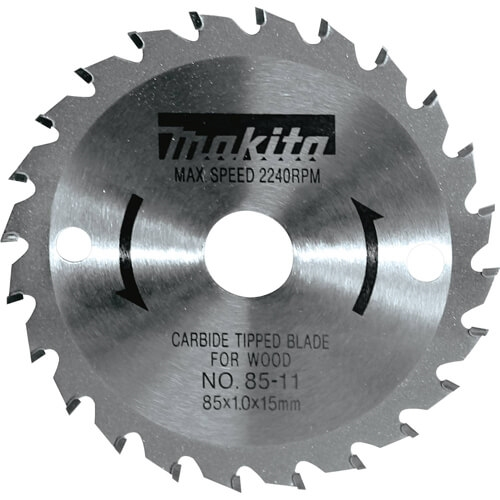 "Makita Tools 721005-A 3-3/8"" 24T Carbide-Tipped Saw Blade"