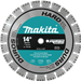 "Makita A-94627 14"" Diamond Blade, Turbo, Hard Material"