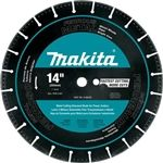 "Makita Tools A-96229 14"" Diamond Blade with Segmented Metal Cutting"