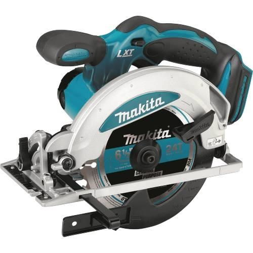 Makita BSS610Z 18 Volt LXT Lithium-Ion 6-1/2 Inch Cordless Circular Saw (Tool Only)