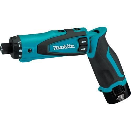 Makita Tool, DF010DSE 7.2V Lithium-Ion Cordless Driver-Drill Kit with Auto-Stop Clutch, makita Cordless drill