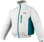 Makita DFJ201ZS 18V LXT Lithium-Ion Cordless Fan Jacket, Small