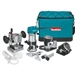 Makita RT0701CX3 1-1/4 HP Compact Router Kit