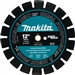 "Makita Tools T-01264 12"" Diamond Blade Sgmt Dual Purp"