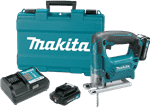 Makita VJ04R1 12V max CXT™ Lithium-Ion Cordless Jig Saw Kit (2.0Ah)