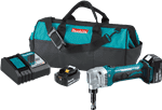 Makita XNJ01T 18V LXT® Lithium-Ion Cordless 16 Gauge Nibbler Kit (5.0Ah)