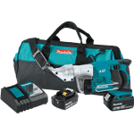 Makita XSJ01T 18V LXT Lithium-Ion Cordless 18 Gauge Straight Shear Kit (5.0Ah)