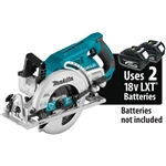 "Makita XSR01Z 18V X2 LXT® Lithium-Ion (36V) Brushless Cordless Rear Handle 7-1/4"" Circular Saw, blade left (Tool Only)"