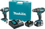 Makita XT261M 18V LXT® Lithium-Ion Cordless 2-Pc. Combo Kit (4.0Ah)