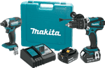 Makita XT263M 18V LXT® Lithium-Ion Cordless 2-Pc. Combo Kit (4.0Ah)