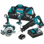 Makita XT448T 18V LXT Brushless 4-Piece Combo Kit