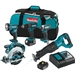Makita XT505 18 Volt LXT Lithium-Ion Cordless Combo Kit (5-Tool)
