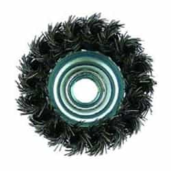 "Metabo Abrasive Steel 655214000 3"" CRIMPED WIRE WHEEL BRUSH"