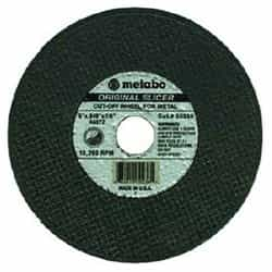 "Metabo Abrasive Steel/Stainless Steel 655316000 3""X.040""X1/4"" - A60TZ"