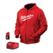 2371-M M12 Cordless Red Heated Hoodie Kit by Milwaukee