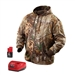 2383 M12 Cordless Realtree Xtra Camo Heated Hoodie Kit by Milwaukee