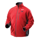2390 M12 Cordless Red Heated Jacket Only by Milwaukee