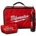 Milwaukee 2460-21 M12 Rotary Tool Kit, 12 Volt Lithium Ion Cordless