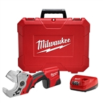 Milwaukee 2470-21 M12, 12v Lithium-Ion Cordless PVC Shear Kit