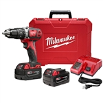 "2607-22 - Milwaukee M18 1/2"" Hammer Drill Xc Kit - 2607-22"