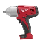 "Milwaukee 2662-20 M18 Cordless 1/2"" High Torque Impact Wrench w/Pin Detent - Bare Tool"