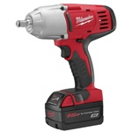 "Milwaukee M18 Cordless 1/2"" High Torque Impact Wrench w/Friction Ring Kit"