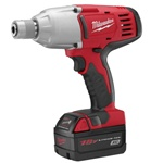 "Milwaukee M18 Cordless 7/16"" Hex High Torque Impact Wrench Kit"