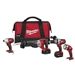 Milwaukee 2692-24 M18 4-Tool Combo Kit Cordless LITHIUM-ION
