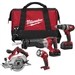 Milwaukee 2694-24 M18 Cordless 4-Tool Combo Kit