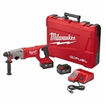 "Milwaukee 2713-22HD M18 Fuel 1"" Sds Plus D-Handle Rotary Hammer High Demand Kit"