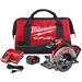 "Milwaukee Tool 2730-22 M18 FUEL 6-1/2"" Circular Saw Kit"