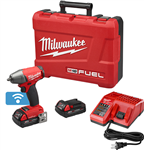 "Milwaukee 2758-22CT M18 FUEL™ with ONE-KEY™ 3/8"" Compact Impact Wrench w/ Friction Ring Kit"