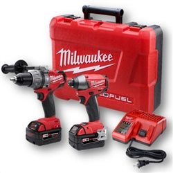 Milwaukee 2797-22 2 Piece Fuel M18 Impact & Hammerdrill Driver Combo Kit