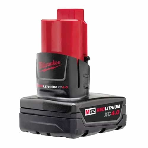 Milwaukee 48-11-2440 M12 RedLithium 4.0 AH Battery