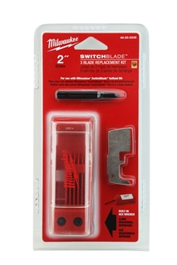 "Milwaukee 48-25-5235 2"" Switchblade 3 Blade Replacement Kit"