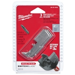 "Milwaukee MIL-48-25-5243 Replacement Switchblades 2-1/4"" W/ Service Kit"