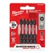 "Milwaukee 48-32-4602 #2 Phillips Shockwave™ 2"" Power Bits, 5 Pack"