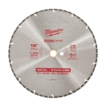 "Milwaukee 49-93-7835 12"" STEELHEAD Diamond Cut-Off"