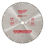 "Milwaukee 49-93-7840 14"" STEELHEAD Diamond Cut-Off"