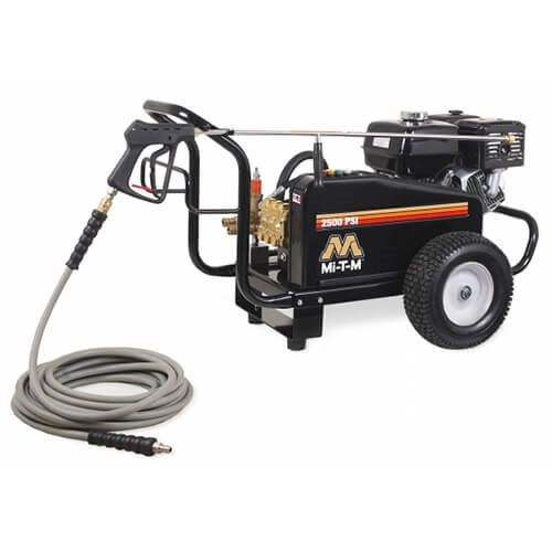Mi-T-M Pressure Washer BELT DRIVE 2500 PSI Pressure Washer, Cold water Power Washer