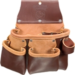 Occidental Leather 5017DB 3 Pouch Pro Tool Bag Best Tool Belt Systems Made in America
