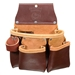 Occidental Leather 5017DBLH 3 Pouch Pro Tool Bag - Left Handed Best Tool Belt Systems Made in America