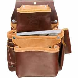 Occidental Leather 5060 3 Pouch Pro Fastener Bag Best Tool Belt Systems Made in America