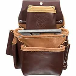 Occidental Leather 5060LH 3 Pouch Pro Fastener Bag - Left Handed Best Tool Belt Systems Made in America