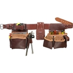 Occidental Leather 5089 LG Seven Bag Framer Best Tool Belt Systems Made in America