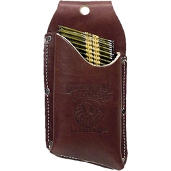 Occidental Leather 5545 Leather Nail Strip Holster Best Tool Belt Systems Made in America