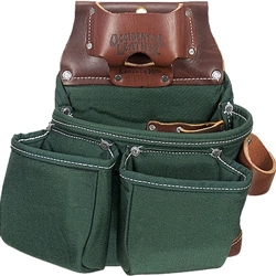 Occidental Leather 8018DB OxyLights 3 Pouch Tool Bag Best Tool Belt Systems Made in America