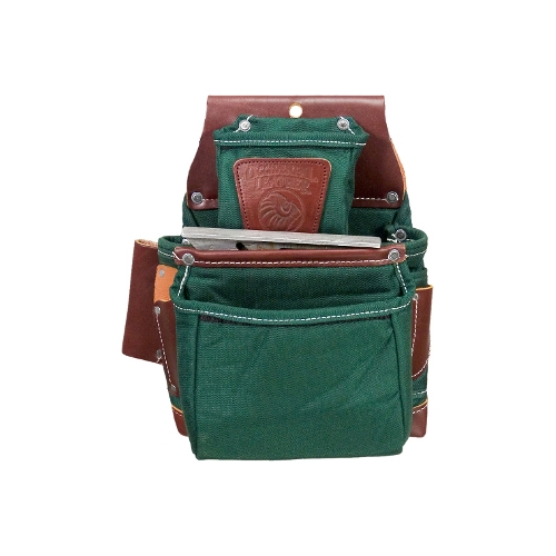 Occidental Leather 8060LH OxyLights 3 Pouch Fastener Bag - Left Handed Best Tool Belt Systems Made in America
