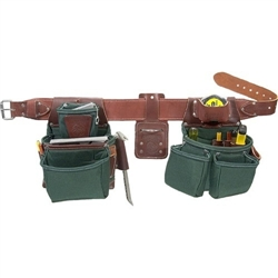 Occidental Leather 8080DB M OxyLights Framer Set with Double Outer Bags Best Tool Belt Systems Made in America