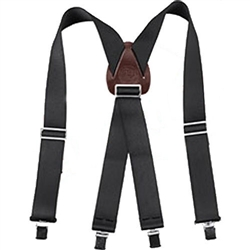 Occidental Leather 9020B Oxy Nylon Suspenders - Black Best Tool Belt Systems Made in America